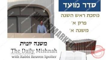 Rosh Hashanah Chapter 1 Mishnah 1