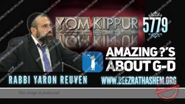 Amazing Questions About God From Hollywood (33) YOM KIPPUR TESHUVA