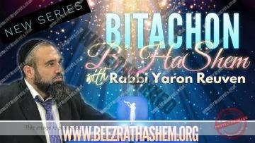 Bitachon B'HaShem PART 1 (IS ANXIETY A SIN?)
