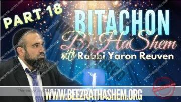 Bitachon B'HaShem PART 18 The Cure For Jealousy
