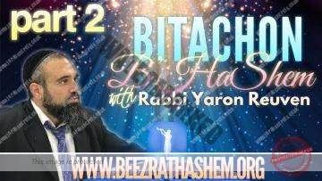 Bitachon BHaShem PART 2 (FORGETTING HaShem)