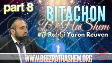 Bitachon BHaShem PART 8 The Divine Solution To Worldly Problems