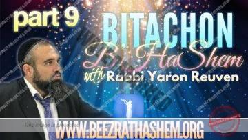 Bitachon BHaShem PART 9 The Small Germ That Destroys Eternity