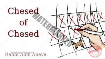 Chesed of Chesed – Counting the Omer – Loving love… – Rabbi Alon Anava