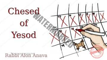 Chesed of Yesod – Counting the Omer – Commitment to Love – Rabbi Alon Anava