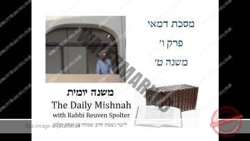 Demai Chapter 6 Mishnah 9
