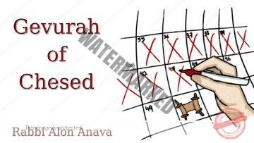 Gevurah of Chesed – Counting the Omer – The effort to love… – Rabbi Alon Anava