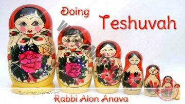 How to do Teshuvah – Rabbi Alon Anava