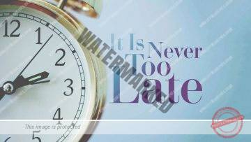 Its never too late to do Teshuvah – Rabbi Alon Anava