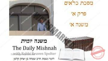 Kilayim Chapter 1 Mishnah 1