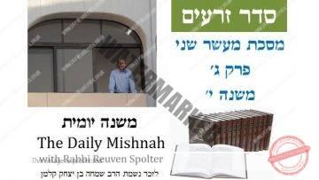 Maaser Sheni Chapter 3 MIshnah 10