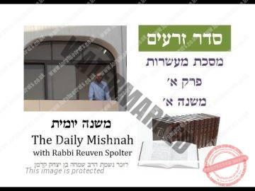 Maasrot Chapter 1 Mishnah 1