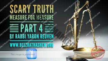 MUSSAR Pirkei Avot (103) Scary Truth Measure For Measure 4