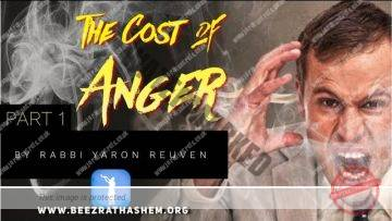 MUSSAR Pirkei Avot (108) The Cost Of Anger PART 1