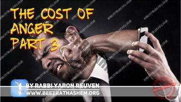 MUSSAR Pirkei Avot (110) The Cost Of Anger PART 3