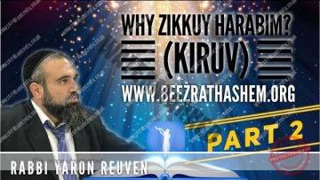 MUSSAR Pirkei Avot (123) Why Zikkuy HARABIM (KIRUV)? PART 2