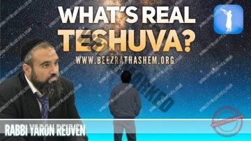 MUSSAR Pirkei Avot  (136) What's Real TeShuva?