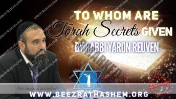 MUSSAR Pirkei Avot (138) To Whom Are Torah Secrets Given?