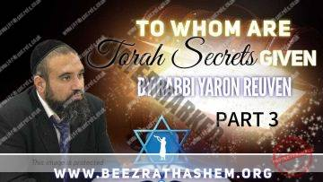 MUSSAR Pirkei Avot (140) To Whom Are Torah Secrets Given PART 3