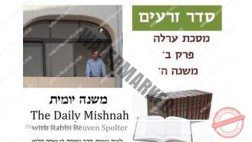 Orlah Chapter 2 Mishnah 5
