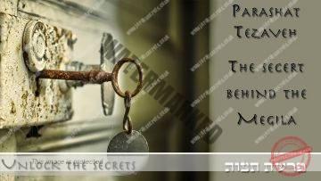 Parashat Tezaveh – Purim – The secret behind the Megila – Rabbi Alon Anava