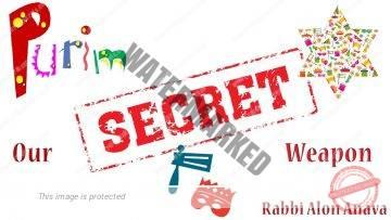 Purim – Our secret weapon – Rabbi Alon Anava