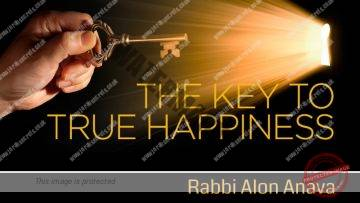 Purim – The key to true Happiness! – Rabbi Alon Anava