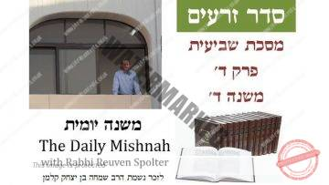 Sheviit Chapter 4 Mishnah 4