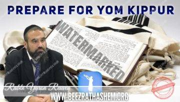 STUMP THE RABBI PART 24 PREPARE FOR YOM KIPPUR