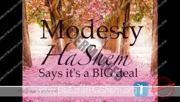 Womens Modesty–HaShem Says Its a Big Deal