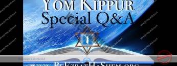 Yom Kippur Special Questions & Answers