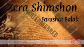 Zera Shimshon – Parashat Balak – One letter can kill or save – Rabbi Alon Anava