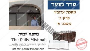 Eruvin Chapter 2 Mishnah 1