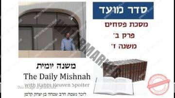 Pesachim Chapter 2 Mishnah 7